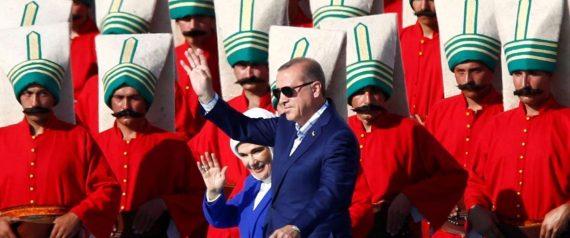 ERDOGAN TURKISH GUARDS