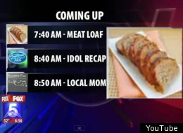 Local News Meatloaf FAIL