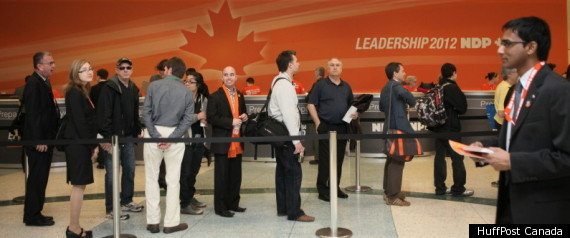 Ndp Leadership Convention 2012