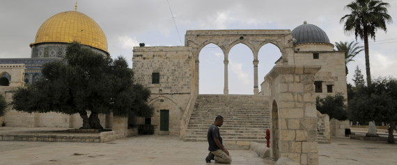 MOSQUE JERUSALEM POLICE