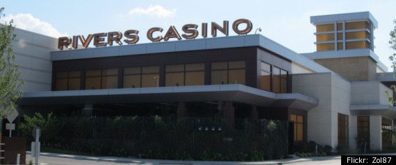 RIVERS CASINO DES PLAINES FINED
