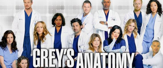 GREYS ANATOMY TV