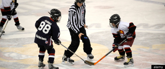 GIRLS BARRED FROM HOCKEY NEWFOUNDLAND