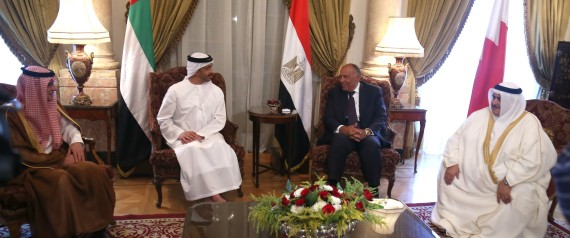 FOREIGN MINISTERS OF EGYPT AND SAUDI ARABIA