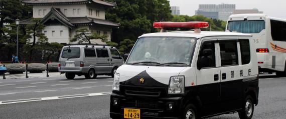 JAPAN POLICE CAR