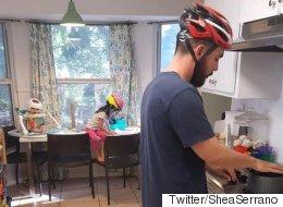 이 가족이 매일 헬멧을 쓰고 생활하는 이유