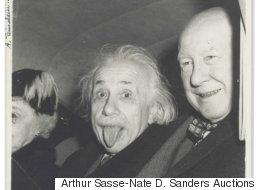 Η διάσημη φωτογραφία του Αϊνστάιν, πουλήθηκε 125.000 δολάρια σε δημοπρασία