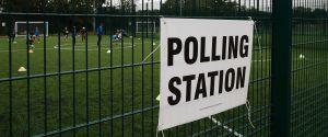 POLLING STATION UK ELECTION