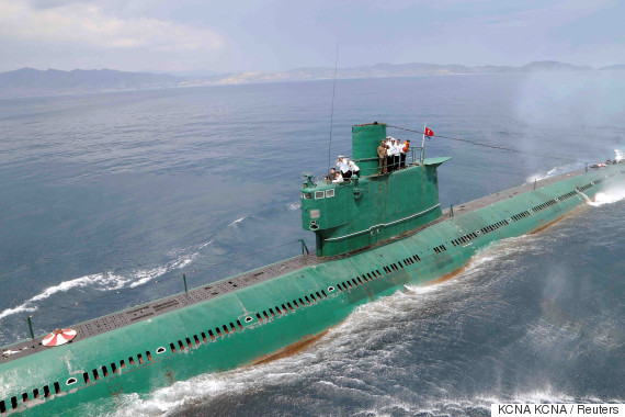 north korea submarine