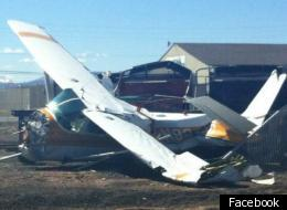 Plane Crash Longmont