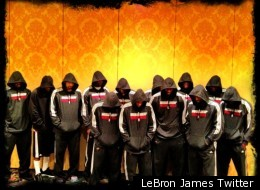 Lebron James Trayon Martin Hoodies