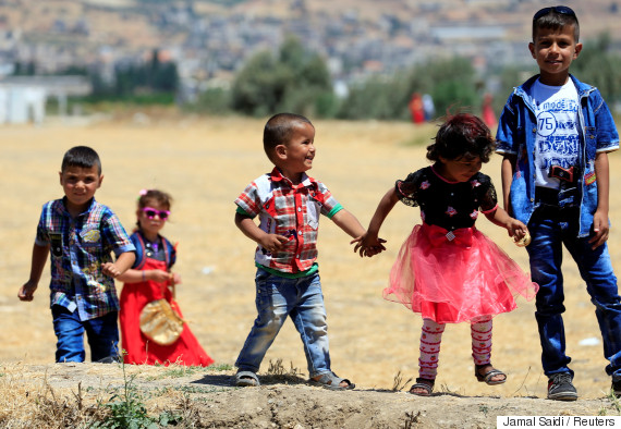 syrian refugee children lebanon