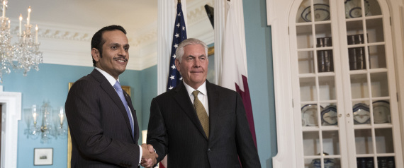 US SECRETARY OF STATE IN QATAR