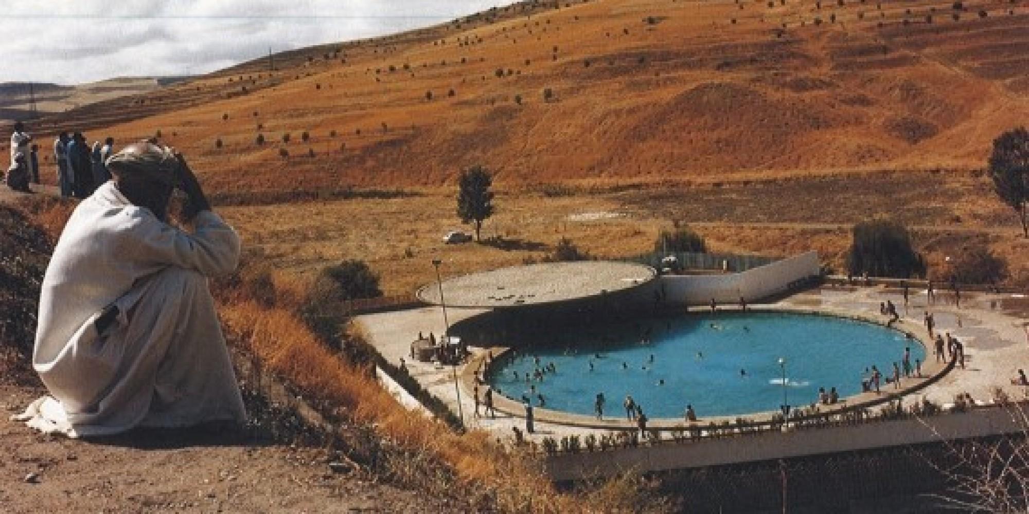 La station thermale de sidi harazem con ue dans les for Piscine demontable maroc