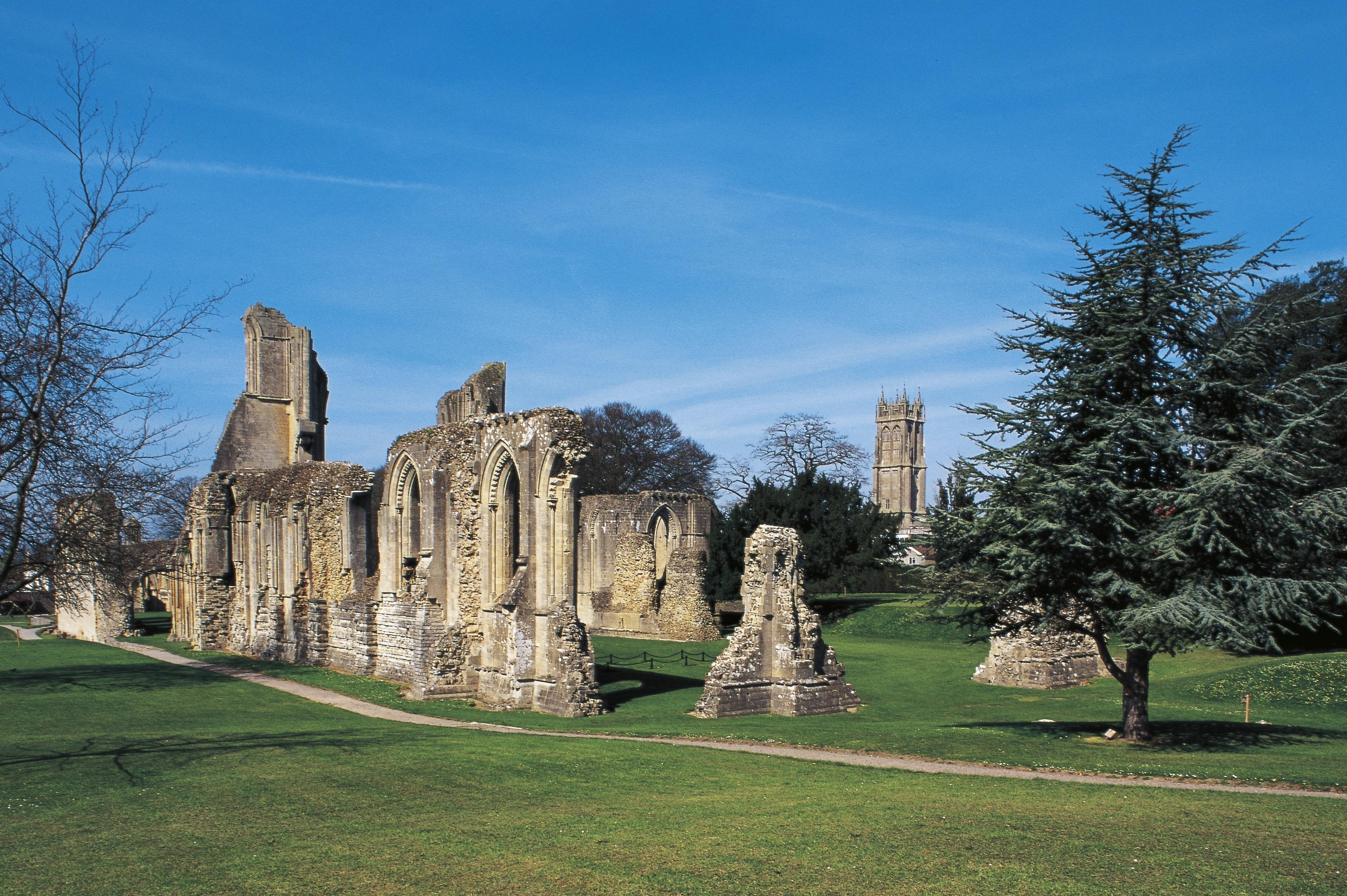 glastonbury uk abbey