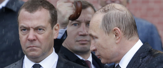 MEDVEDEV RUSSIAN PRIME MINISTER
