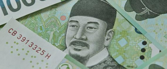 KOREA MONEY WON