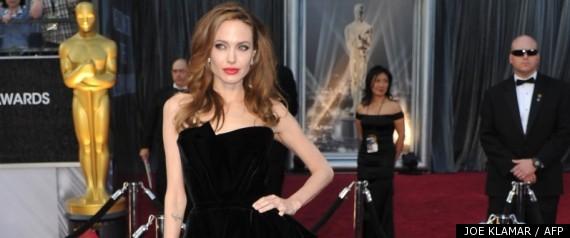 Angelina Jolie Jambe