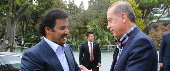 PRESIDENT OF TURKEY AND EMIR OF QATAR