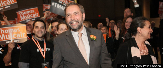 Mulcair Ndp Liberal Merger