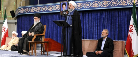 HASSAN ROUHANI AND KHAMENEI