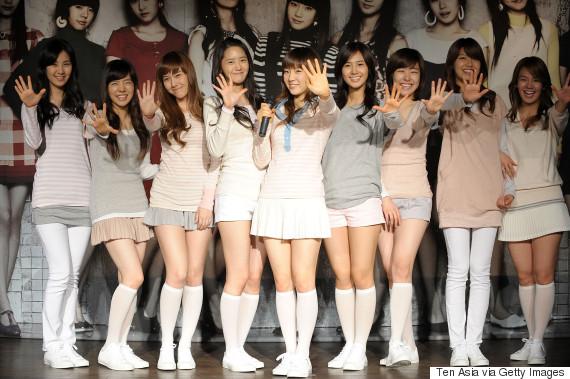 girls generation korea 2008