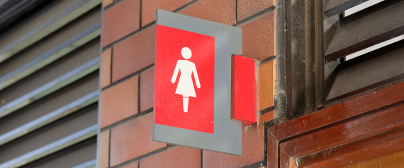 RESTROOM WOMAN SIGN
