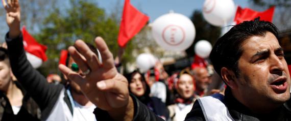 TURKEY DEMONSTRATION EVET