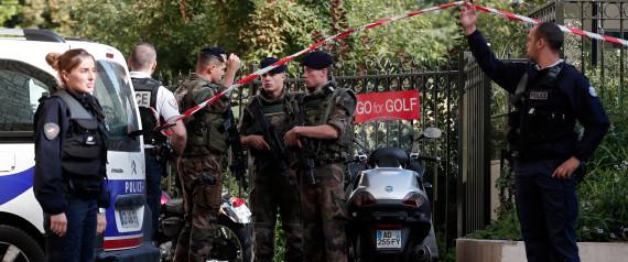PARIS POLICE ATTACK