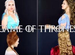 سيرسي لانيستر ودنيرس تارغارين.. هكذا تحصلين على تسريحات شعر بطلات Game of Thrones.. فيديو
