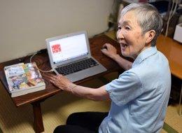 تعلَّمت البرمجة وهي في الـ83 من عمرها.. عجوز يابانية تتحدى المستحيل