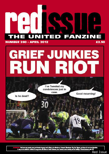 red issue  did manchester united fanzine u0026 39 s fabrice muamba
