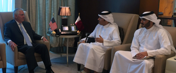 US SECRETARY OF STATE AND QATAR