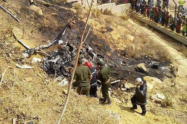 Algérie : 4 morts, dont 2 photographes, dans l'écrasement d'un hélicoptère