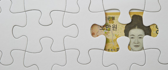 KOREA WON MONEY