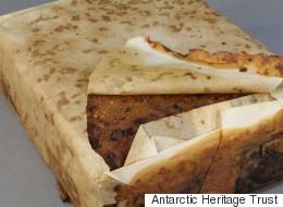 남극에서  100년이 넘은 케이크가 발견됐다(사진)