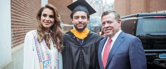 QUEEN RANIA AND KING ABDULLAH GRADUATION