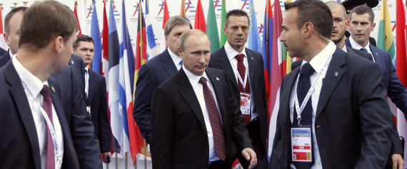 PUTIN BODYGUARDS