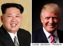 트럼프와 김정은의 헤어스타일을 바꿔봤다(사진)