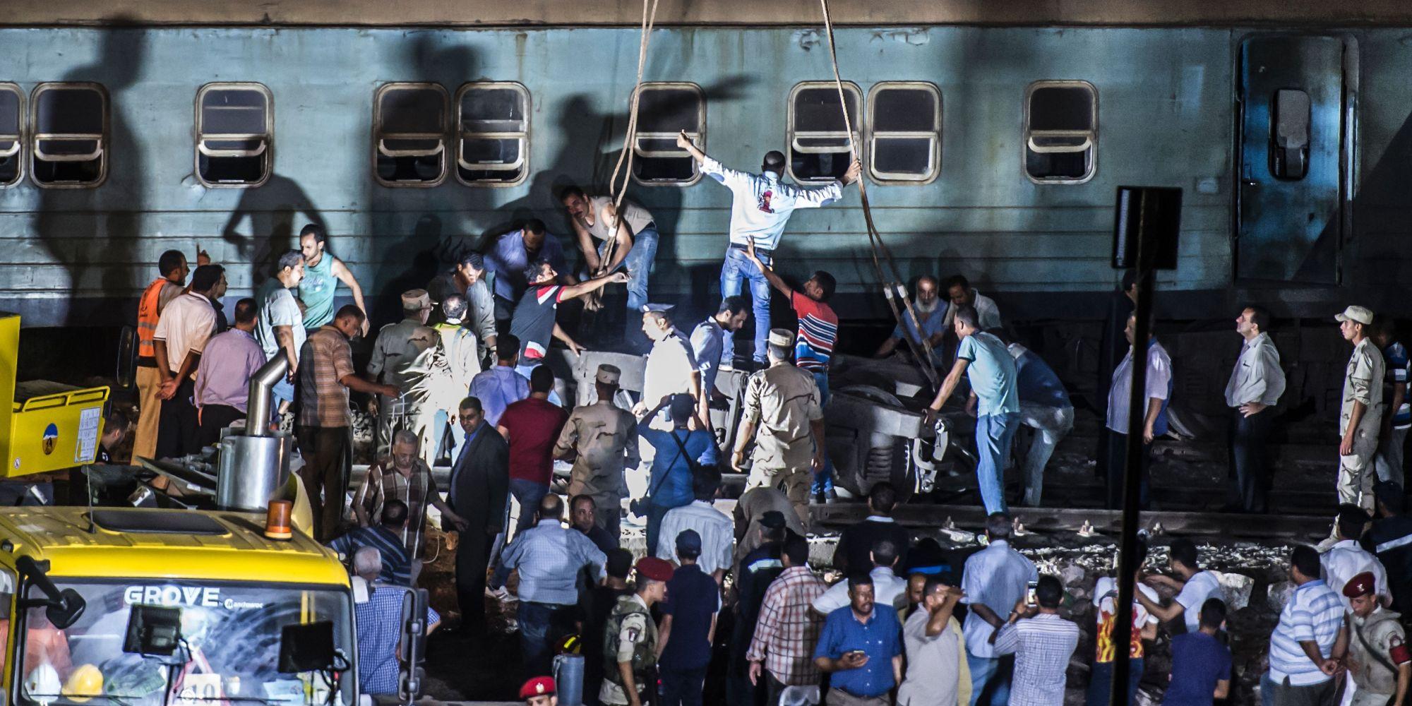 قطارات  الموت  في مصر تحصد الأرواح منذ 15 عاماً.. أبرز حوادث السكك الحديدية وأعنفها