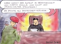 Satirischer Rückblick: Schulz mahnt Trump und Kim