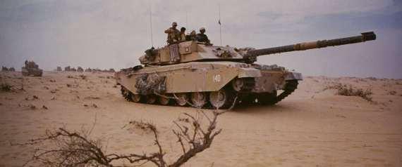 GULF WAR 1990