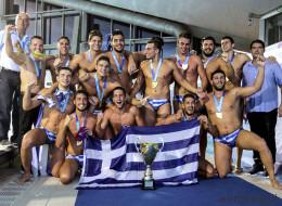 Η Εθνική Πόλο νέων ανδρών Παγκόσμια Πρωταθλήτρια