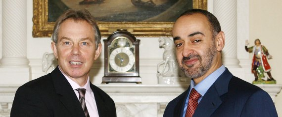 TONY BLAIR MOHAMMED BIN ZAYED