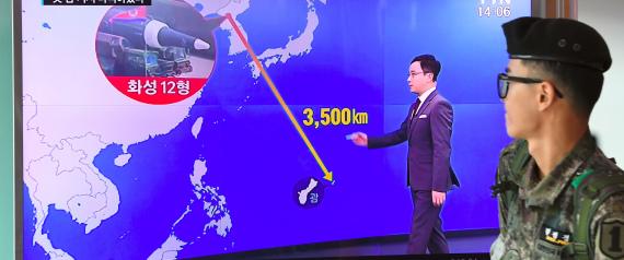 ROCKET NORTH KOREA