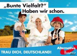 Die AfD zeigt mit einem einzigen Wahlplakat, wie wenig Ahnung sie von Deutschland hat