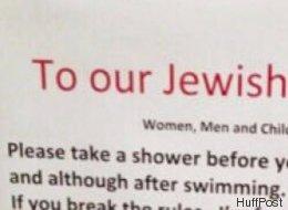 Ein Schweizer Hotel hängt Aushang mit Verhaltensregeln auf – aber nur für Juden