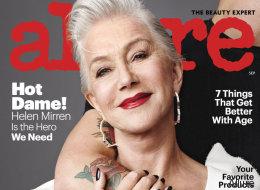 Το Allure κατάργησε τον όρο «αντιγήρανση» και ανακήρυξε την Helen Mirren ως ηρωίδα του τέλειου αυτού κινήματος