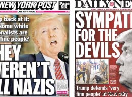 Mit diesen Covern haben New Yorks Boulevardmedien Trump heute begrüßt