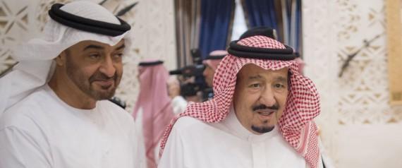 KING SALMAN AND MOHAMMED BIN ZAYED